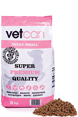 vetcan Adult Small 3 kg
