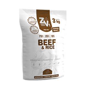 ZV1 Beef and Rice 3kg